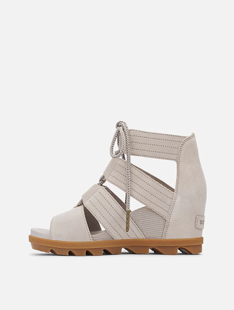 Sorel Joanie II Lace Sandal in Taupe
