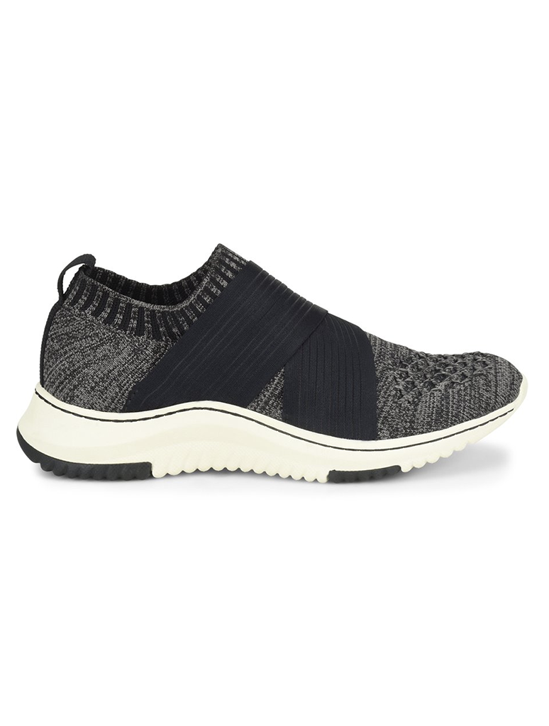 Bionica Ocean Elastic Sneaker in Black/Grey