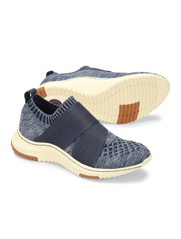 Earth Zen Groove Sport Slip On Knit Sneaker in Blush