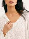 Free People Baja Babe Hacci Top in Ivory