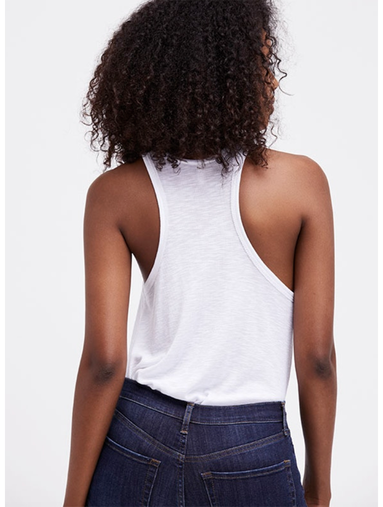 Free People Long Beach Tank in White