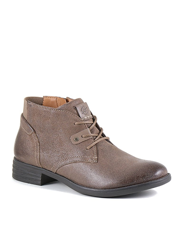 Bussola Tyra Lace Up Boot in Fossil