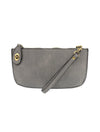 Joy Susan Linen Wristlet in Grey