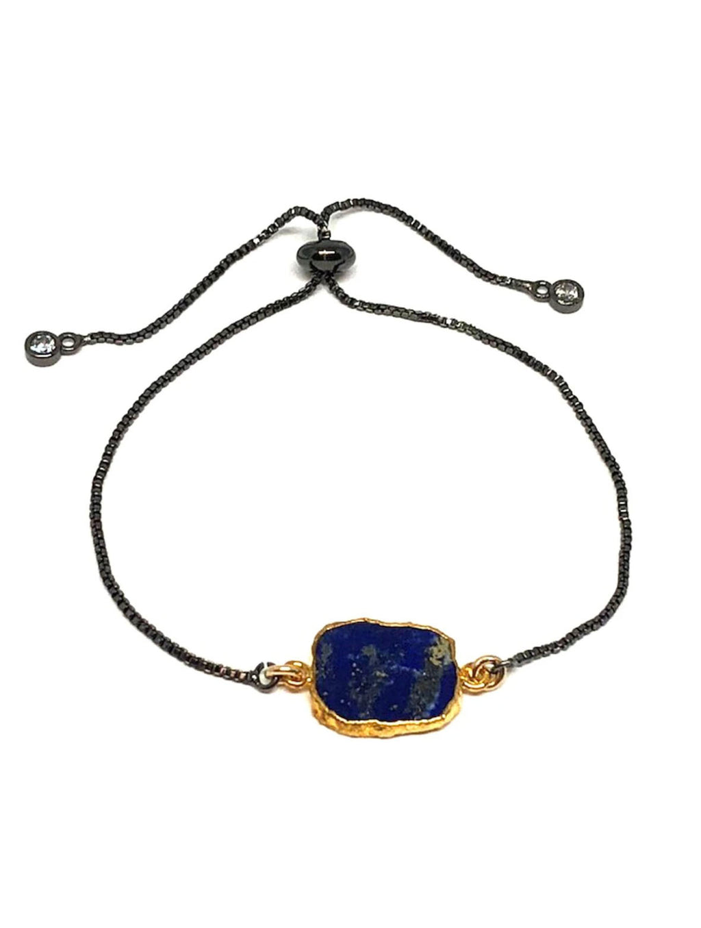 Athena Designs Pull On Bracelet in Lapis