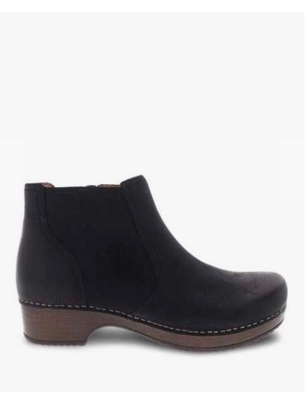 Dansko Barbara Clog Boot in Black