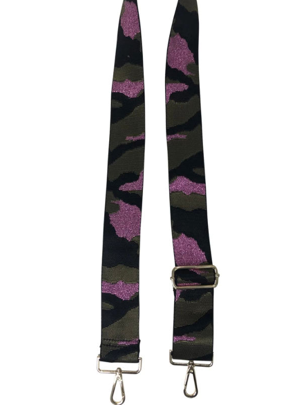 Ahdorned 2 Inch Strap in Pink Camo
