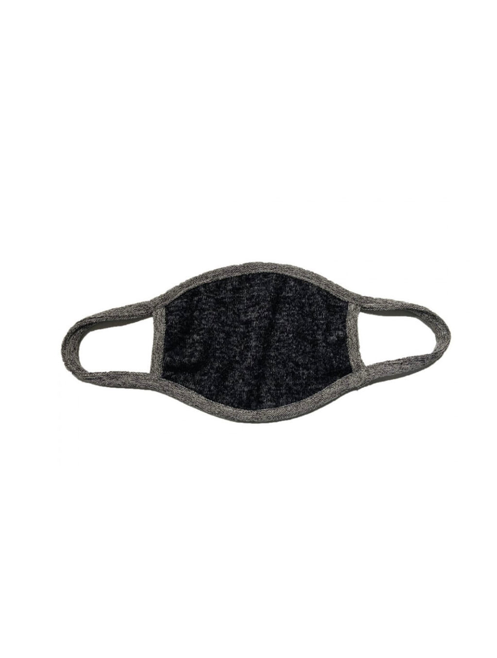 Coin 1804 Fuzzy KIDS Mask in Black