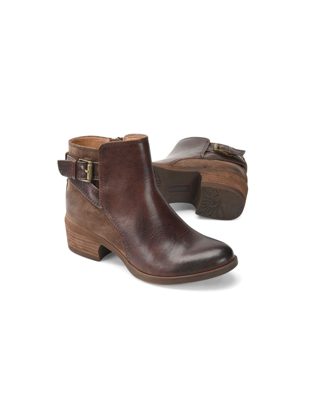 Comfortiva Creston Bootie in Brown