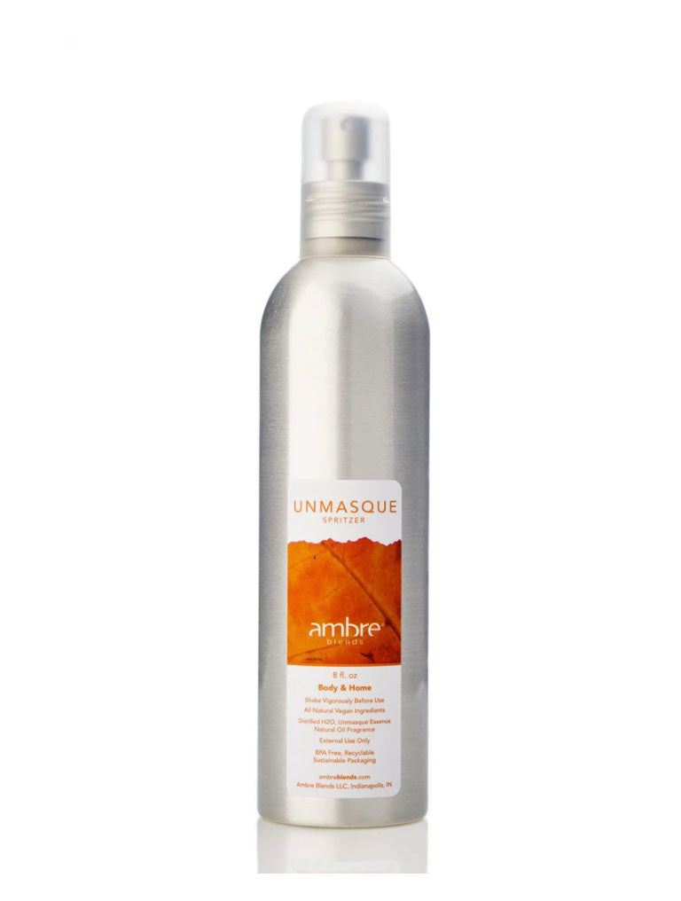 Ambre Blends 8oz Spritz in Unmasque Orange