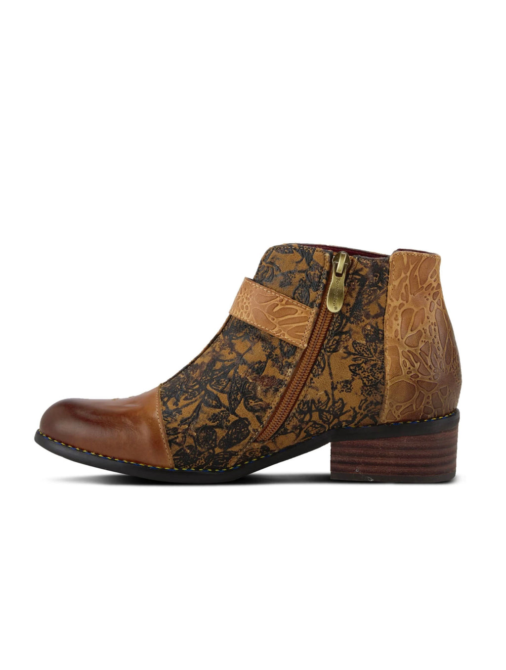 L'Artiste Georgiana Bootie in Camel