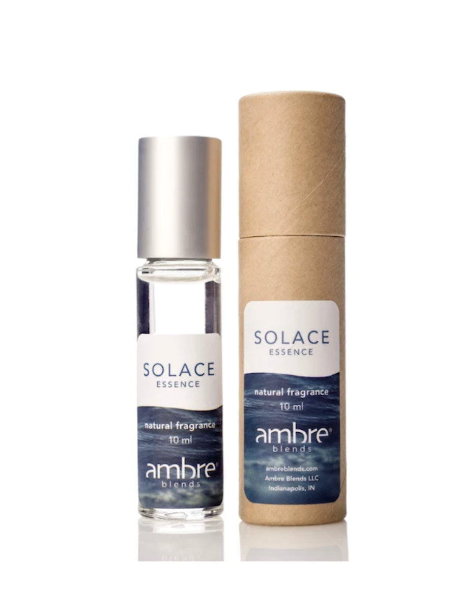Ambre Blends 10oz Roll On in Solace Blue