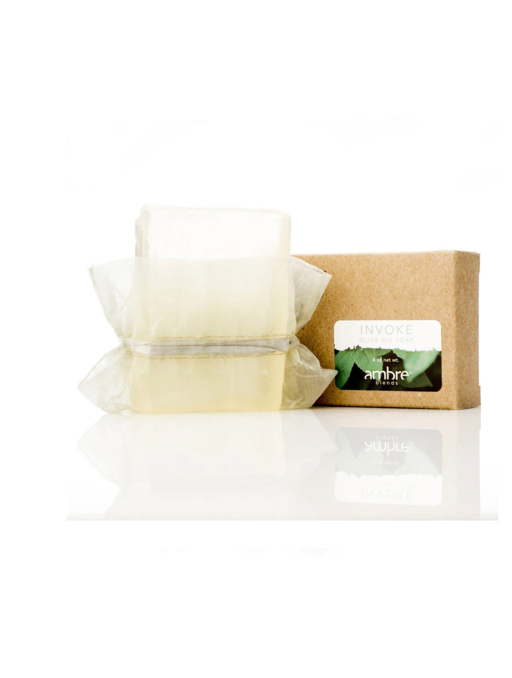 Ambre Blends Soap in Invoke Green