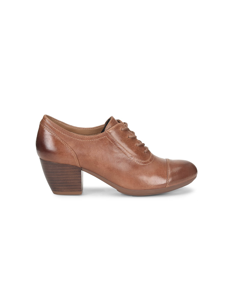 Comfortiva Angelique Oxford Heel in Luggage