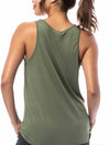 Alternative Apparel Slinky Tank in Army Green
