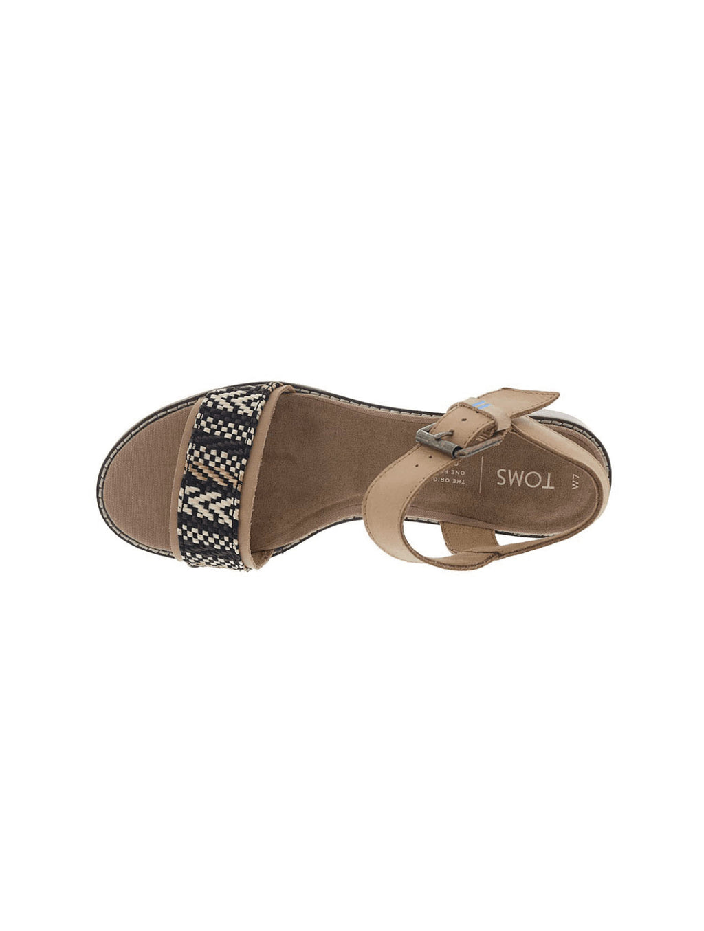 Toms Camilia Sandal in Honey Geometric