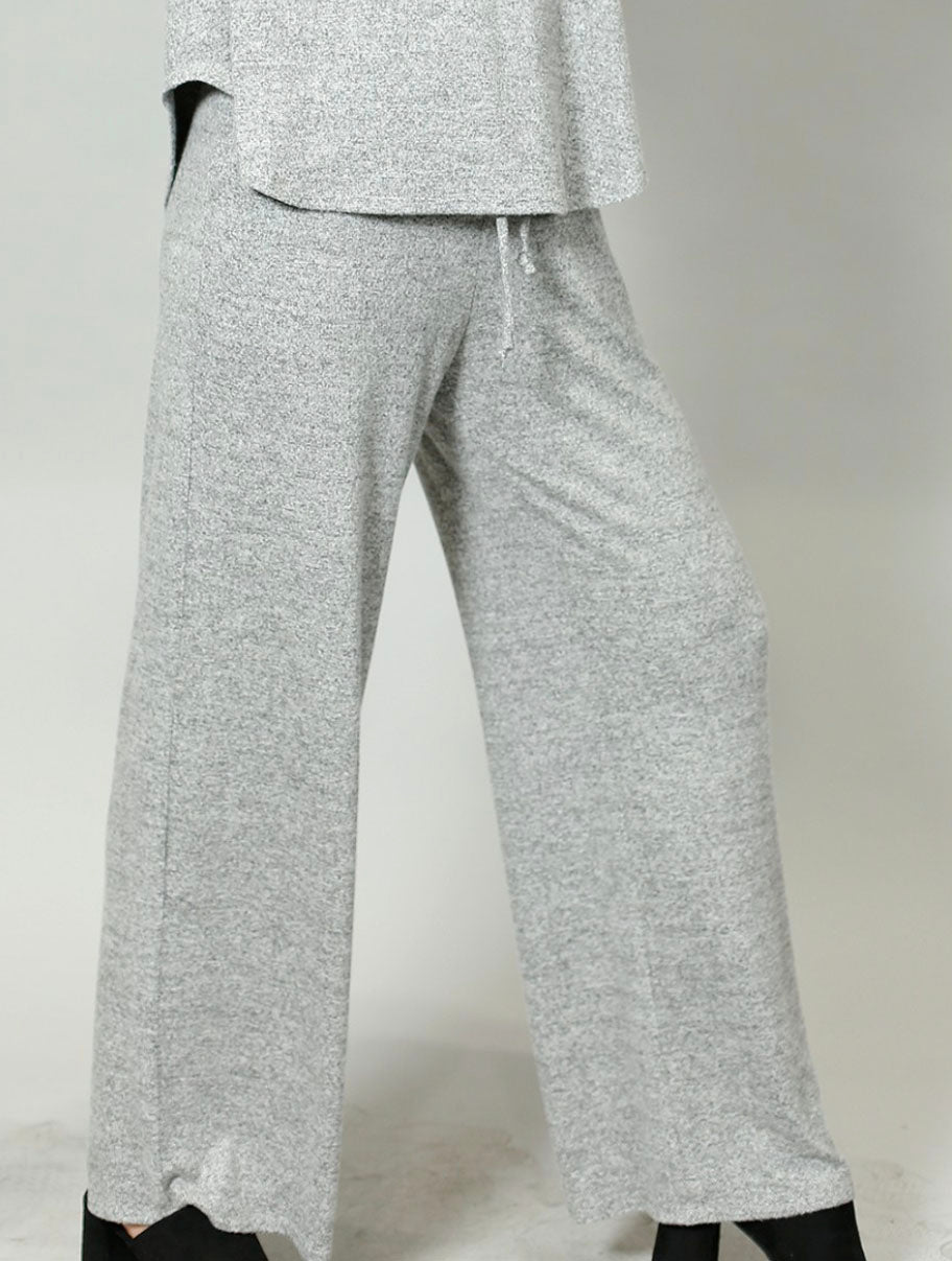 Coin 1804 Drawstring Pant in Heather Gray