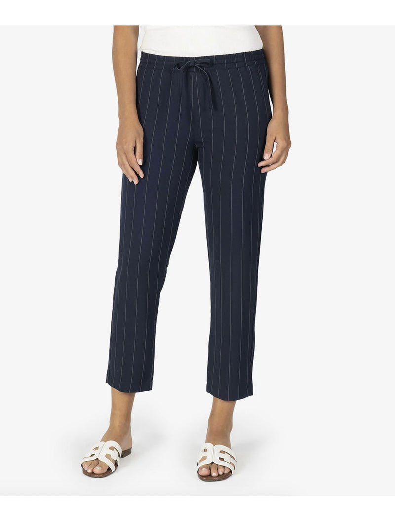 Kut Drawcord Trouser in Navy