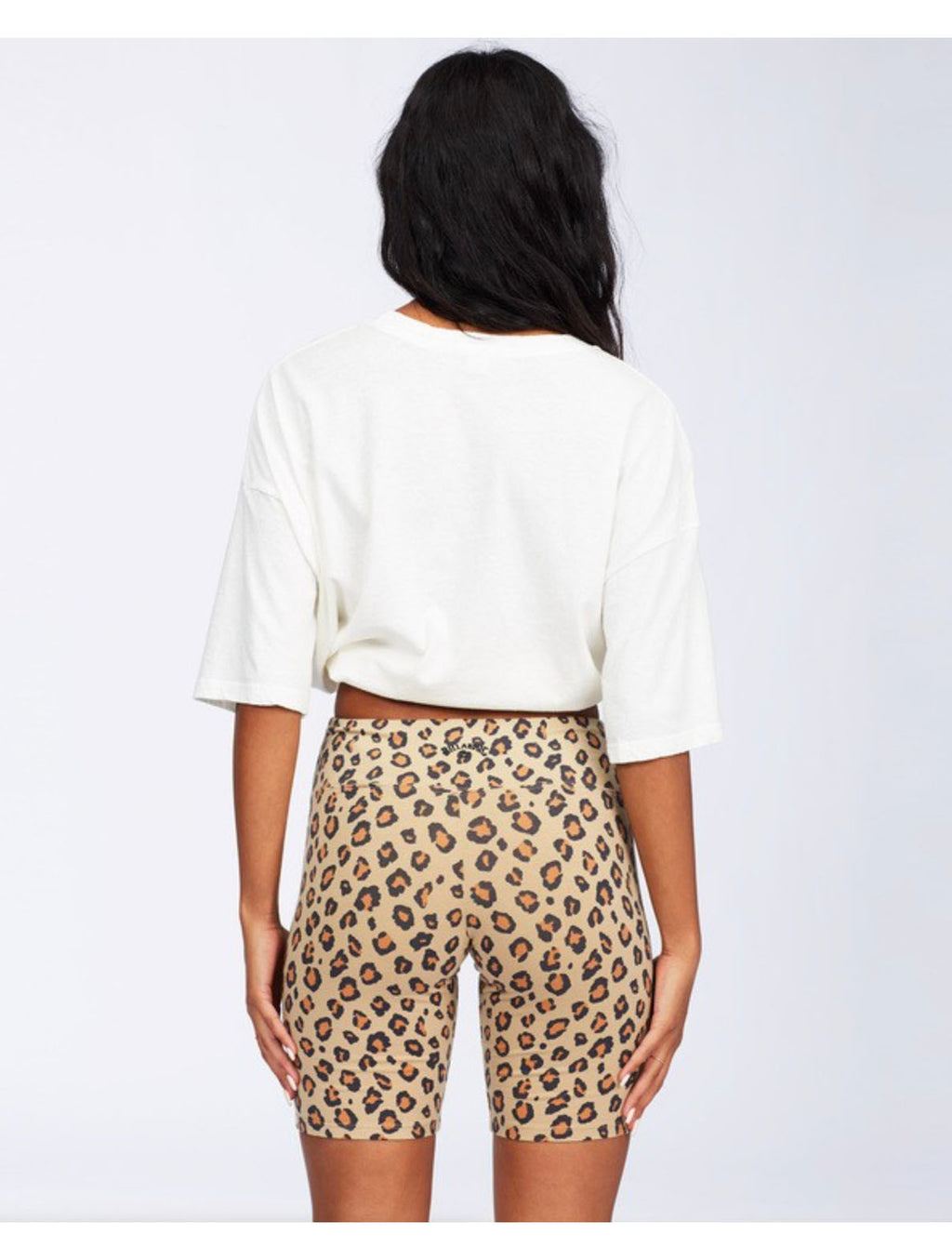 Billabong Biker Babe Shorts in Cheetah