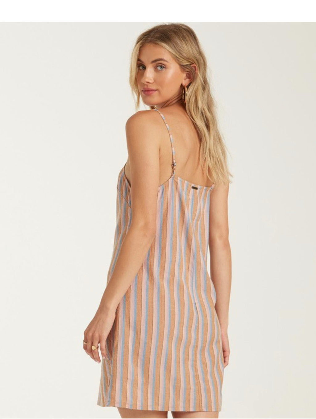 Billabong Straight Round Dress in Multi