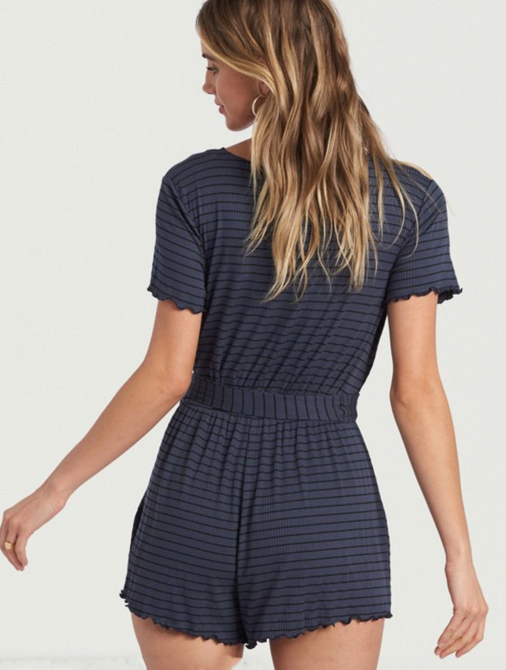 Billabong Moving Forward Romper in Ink
