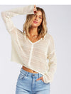 Billabong Good Times Sweater in White Cap
