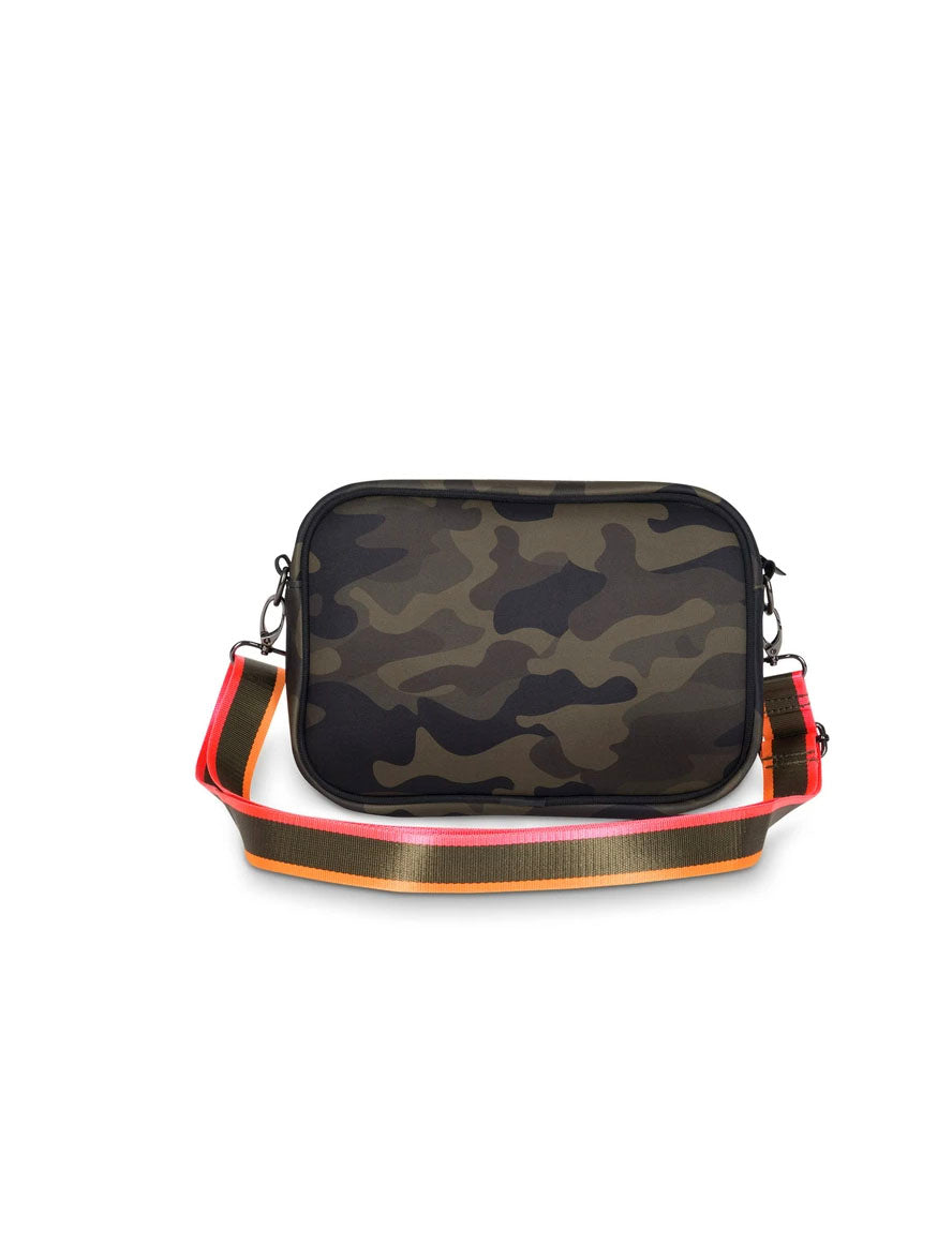 Haute Shore Drew Showoff Crossbody in Green Camo