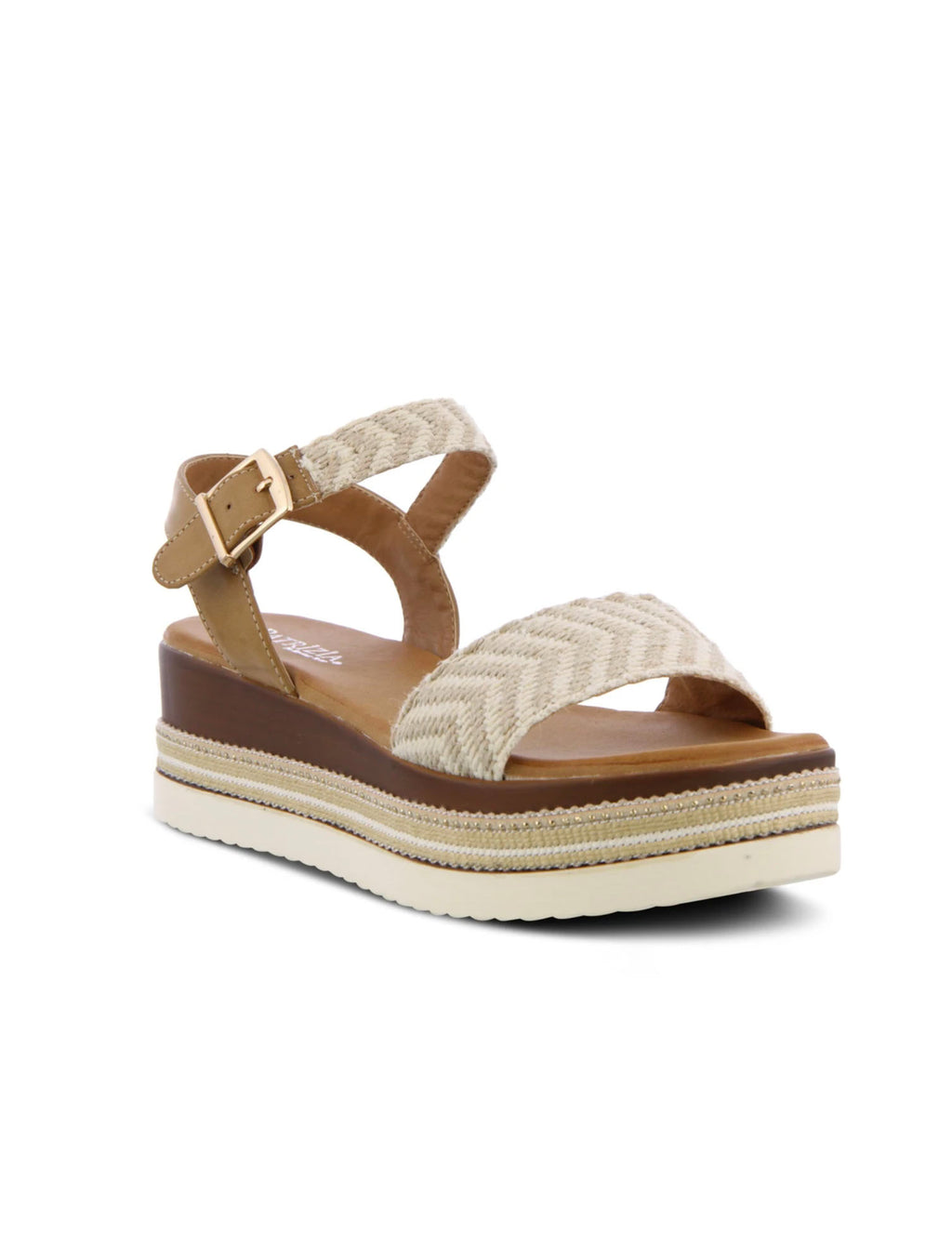 Spring Step Patrizia Georgia Quarter Strap in Bone