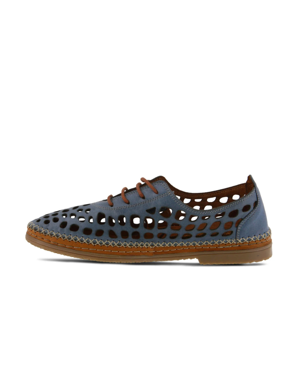 Spring Step Bernetta Loafer in Blue