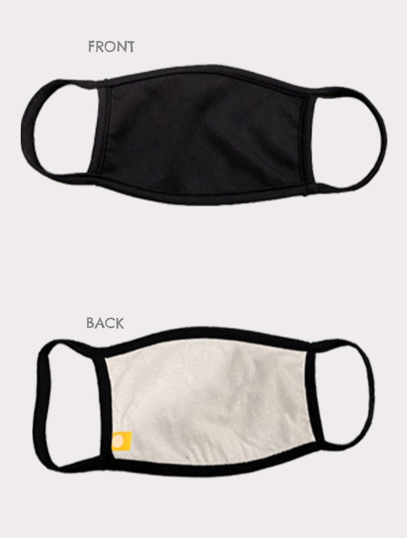Coin 1804 Cotton Face Mask in Black