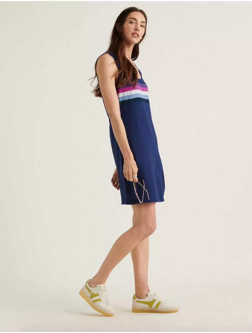 Lucky Brand Knit Mini Dress in Multi