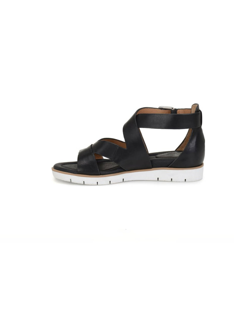 Sofft Mirabelle Criss Cross Sandal in Black
