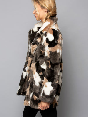 Coalition Camo Animal Coat in Marble