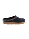 Haflinger Grizzly Wool Clog in Navy