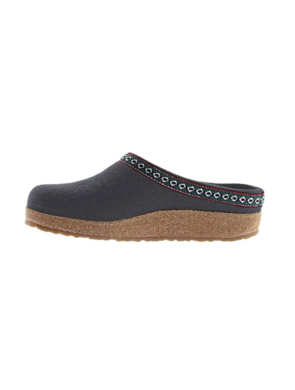 Haflinger Grizzly Wool Clog in Grey