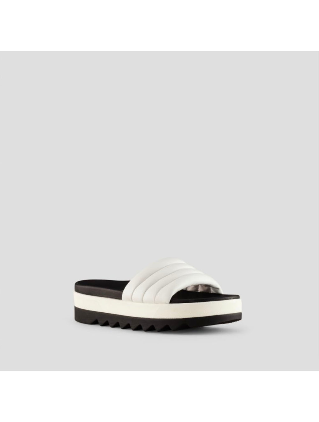Cougar Prato Leather Sandal in White