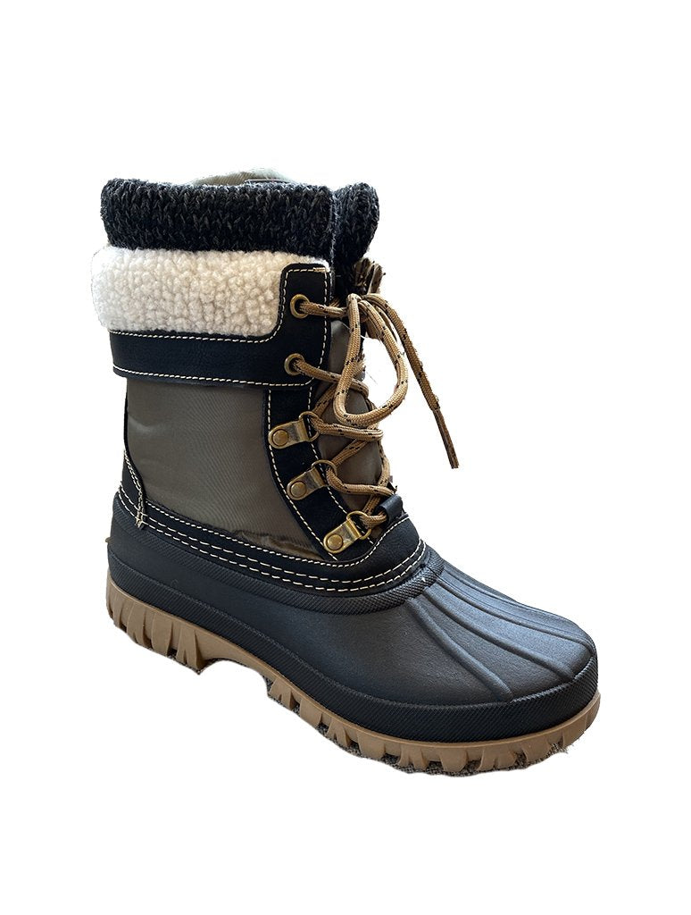 Cougar Creek Snow Boot in Olive