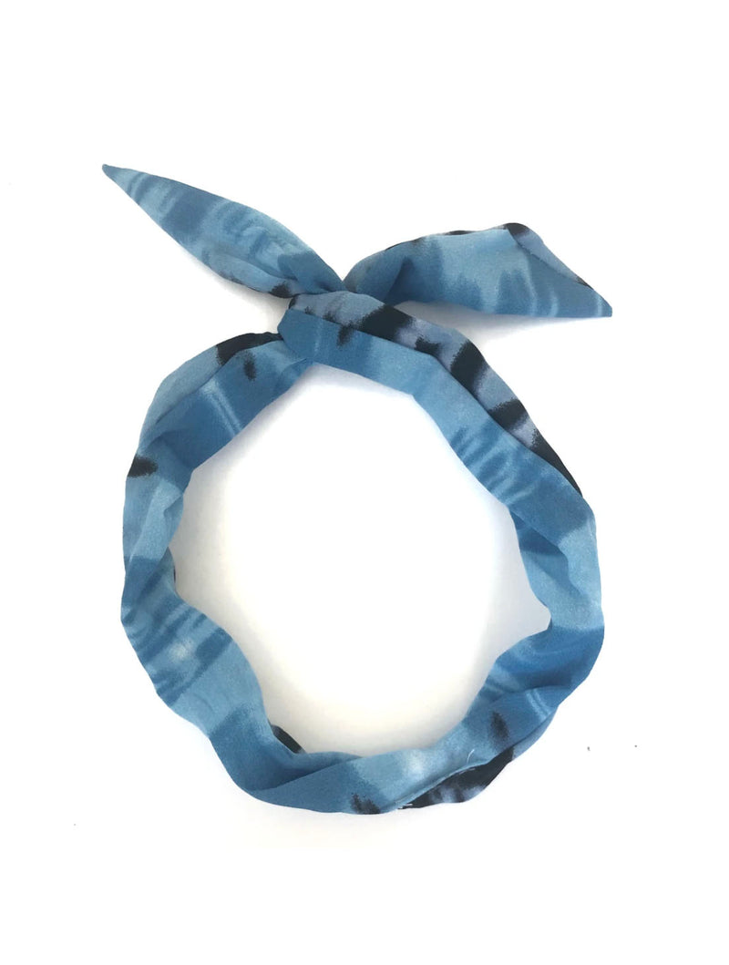 CRC Wire Hair Tie in Blue