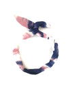 CRC Wire Hair Tie in Blue/Pink