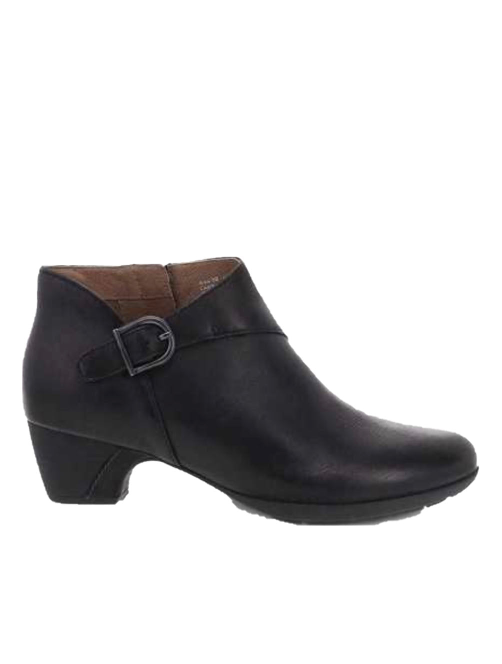 Dansko Darbie Heeled Bootie in Black