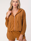 Billabong Transport Puffer Jacket in Chestnut