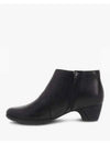 Dansko Darbie Low Bootie in Black