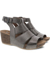 Dansko Sera Wedge Sandal in Pewter