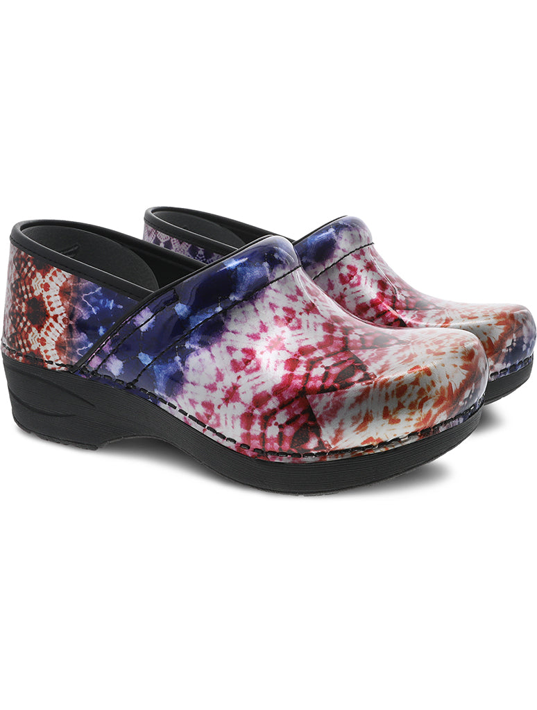 Dansko XP 2.0 Clog Shoe in Metallic Tie Dye