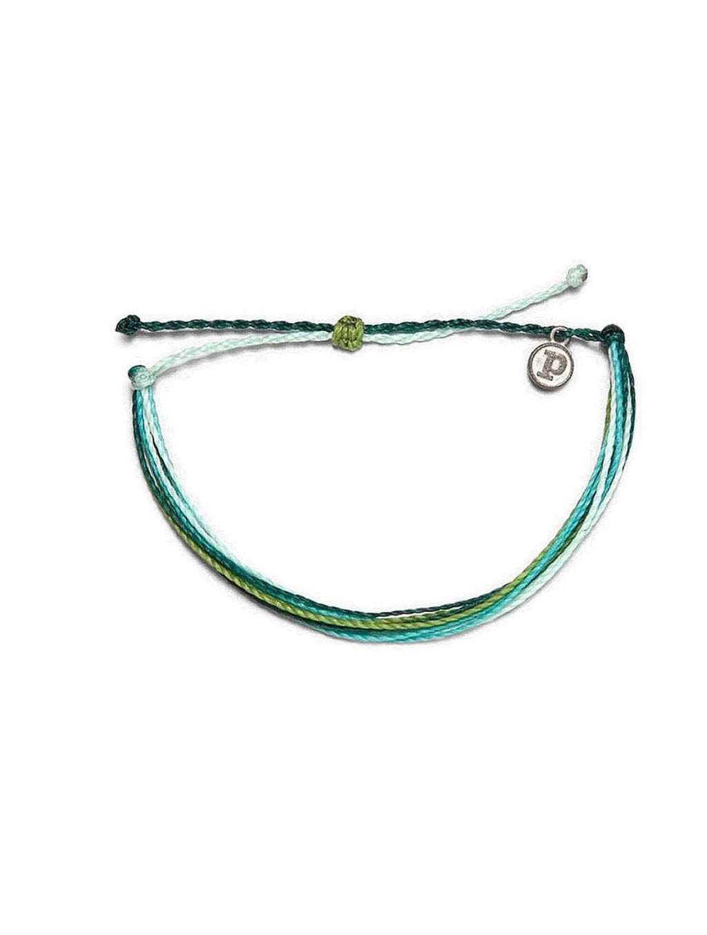Pura Vida Original Bracelet in Blue/Green