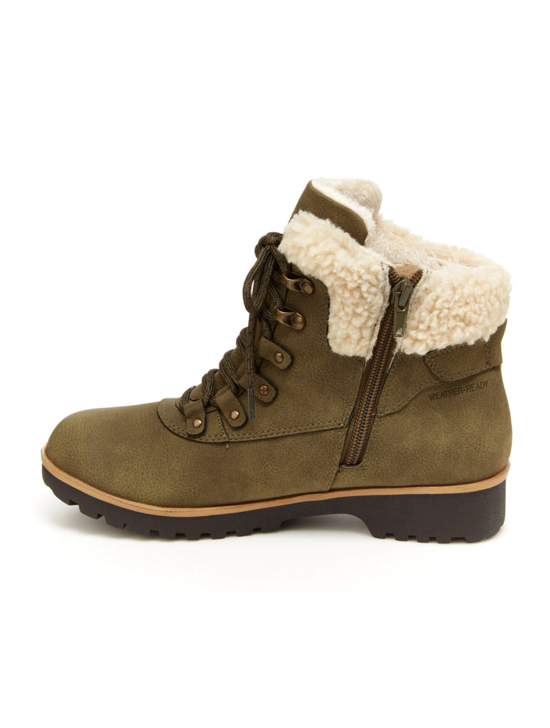 Jambu Redrock Lace Up in Olive