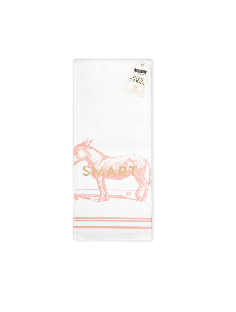 Design Works Ink Donkey Dishtowel