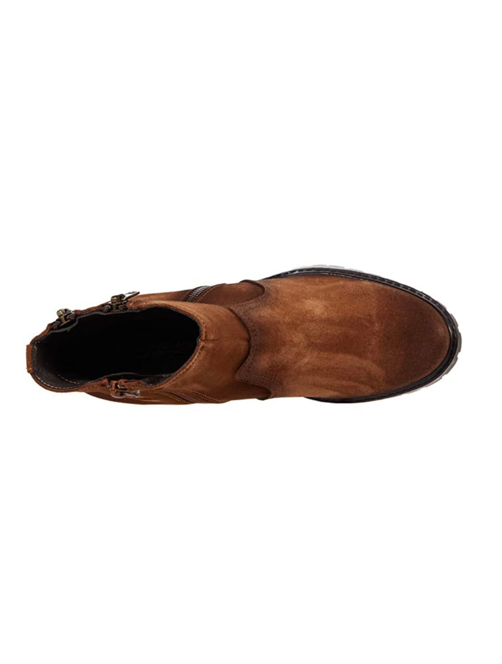 Eric Michael Caressa in Brown Suede