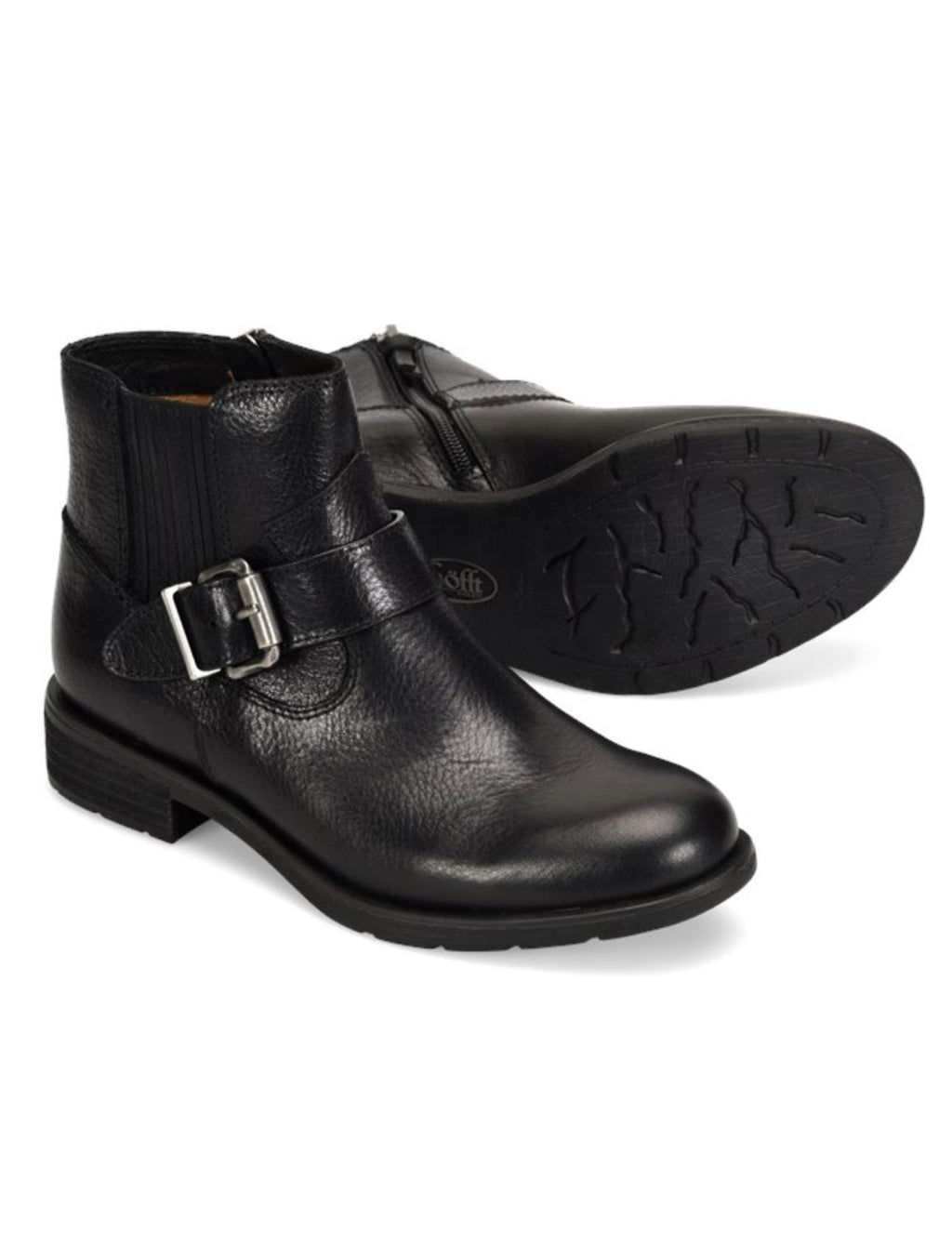 Sofft Brocke Moto Boot in Black
