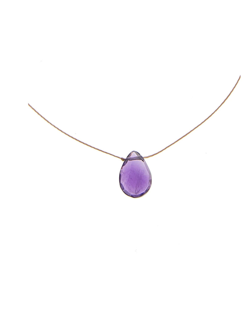 "SoulKu Jewelry Luxe ""Healing"" Necklace in Amethyst"