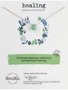 "SoulKu Jewelry Soul-Full of Light ""Healing"" Necklace in Green Aventurine"